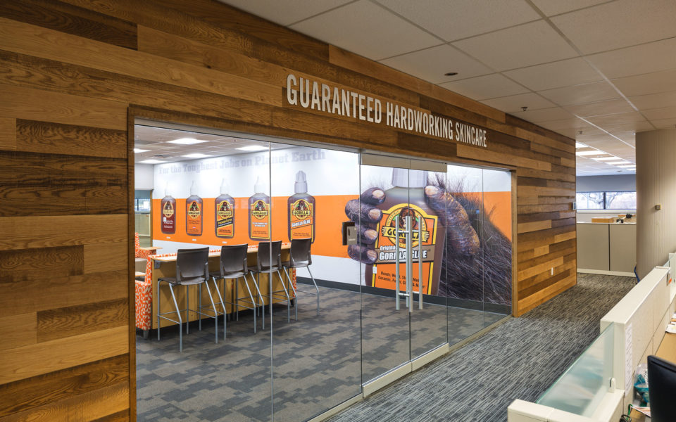Feature entrance into conference room