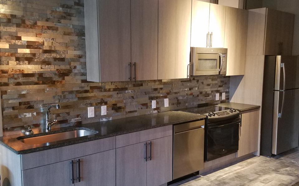 Crane Factory Flats Interior kitchen
