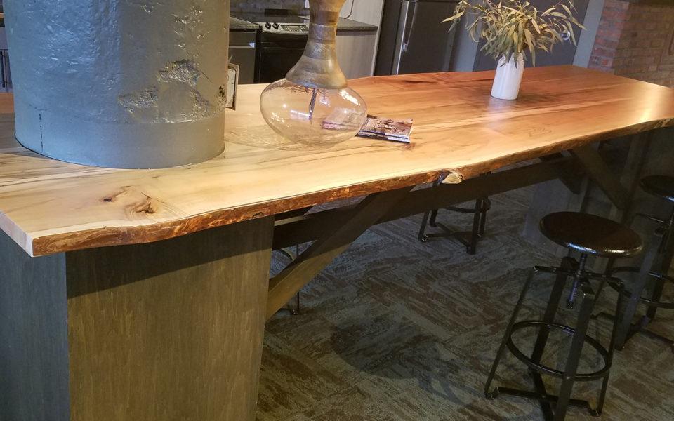 Crane Factory Flats Interior table