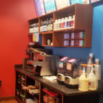 Interior of Biggby Coffee