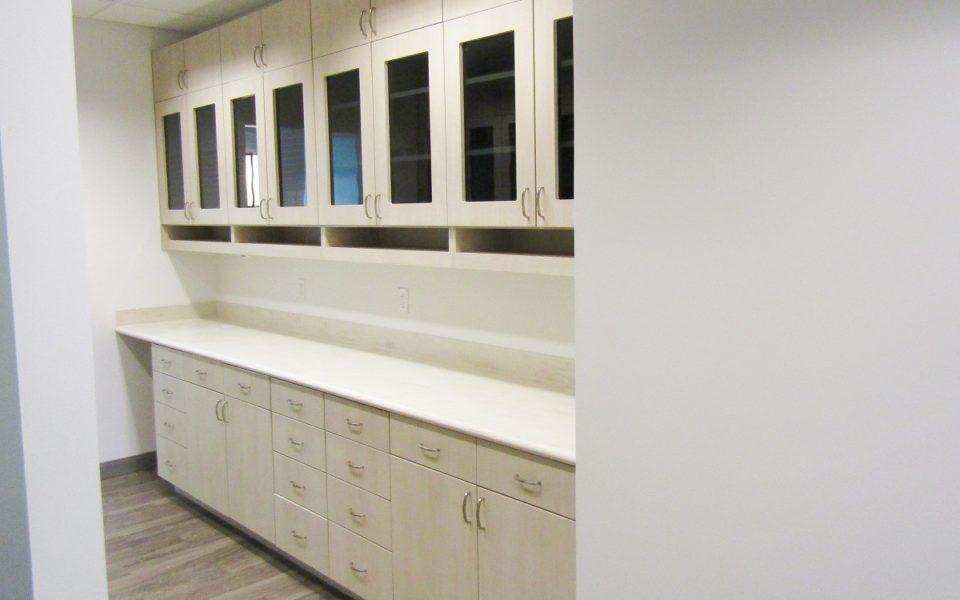 North Spring Dental sterilization cabinets