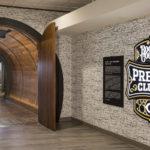 Entryway to Boone County Bourbon Barrel Press Club