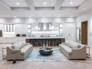 high-end display kitchen