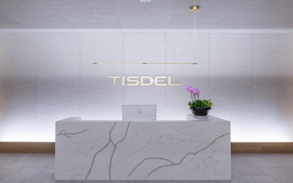 reception area at Tisdel Distributing Showroom